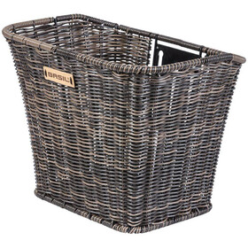 Basil Bremen Front Wheel Basket Rattan-Look nature brown